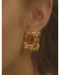 Yuul Yie Frame Earring - Metallic