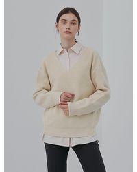 among Soft Knit Top - White