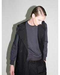BONNIE&BLANCHE - Question Sweatshirt Grey - Lyst