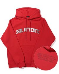 SSRL Authentic Hoodie - Red