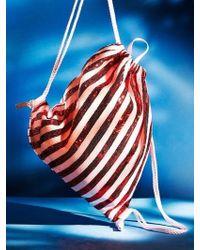 UNDER82 Shinning Drawstring Bag Red