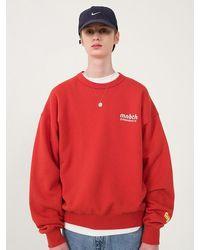 MAINBOOTH 9f Mnbth Sweatshirt - Red