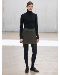 NILBY P Mini Wrap Skirt - Black