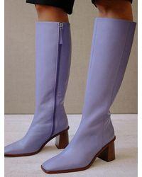Alohas East Long Boots - Purple