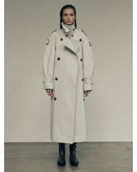 Low Classic (pre-order) Classic Trench Coat - Grey