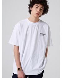 MADMARS Small Logo T-shirt - White