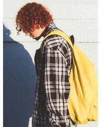 WKNDRS [unisex]wavy Logo Backpack Yellow
