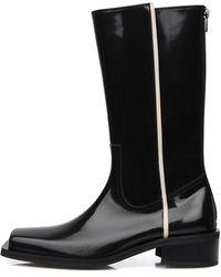 SO.U:LESURES Reve Boots - Black