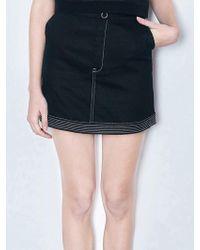 Margarin Fingers - Stitch Mini Skirt - Lyst