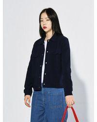 Bensimon Double Face Jacket - Blue