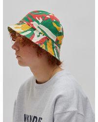 WKNDRS Camo Bucket Hat - Red