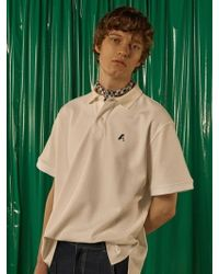 ADER error - [unisex] Easy Pique Shirt Ivory - Lyst