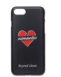 Beyond Closet - Basic Nomantic Iphone7 Case Black - Lyst