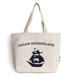 Biker Starlet | Sailor Canvas Bag Navy | Lyst