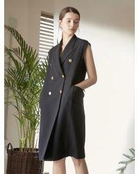 NILBY P - Tailored Vest Dress - Lyst