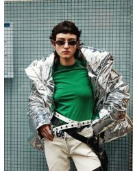 KIMMY J Mirror Down Jacket - Metallic