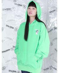 Baby Centaur Baby Moon Hood Tee Shirt - Green
