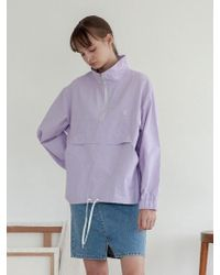 TARGETTO - Tgt Anorak Lilan - Lyst