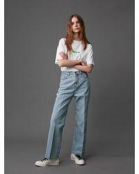 AEER Natural Denim Trousers (light Blue)