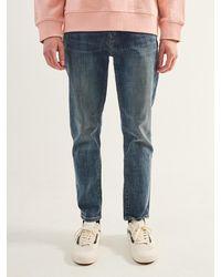 Plac Neu Kurz Fit Denim Trousers - Blue