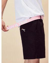 W Concept (unisex)re Belt(pink)