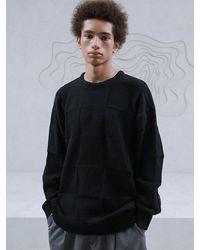 MADMARS Oversized Cashmere And Wool-blend Jumper - Black
