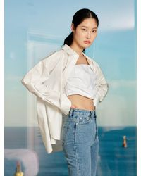 Yull - Signature Coated Shirt (white) - Lyst