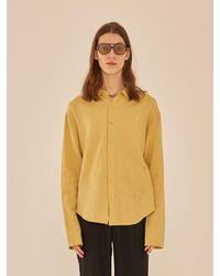 13Month - Long Sleeve Linen Shirt - Lyst