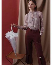 Petite Studio Belda Trousers Mauve - Purple