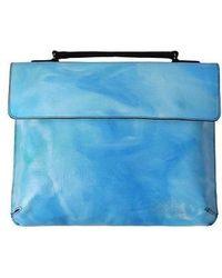 ULKIN Upcycling Satchel Bag_roy - Blue