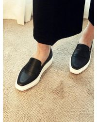 Wite - A022 Black Loafer - Lyst