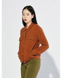 Bensimon Double Face Jacket - Orange