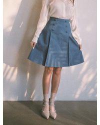 Blanc & Eclare - Rtw_corelli Denim Skirts - Lyst