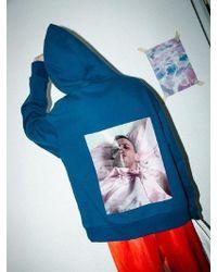 CLUT STUDIO - 0 8 Piercing Man Double Hood Blue - Lyst