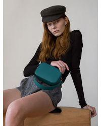 DEMERIEL - Belt Bag Turquoise Blue - Lyst