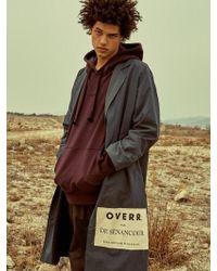 OVERR - Side Postcard Khaki Coat - Lyst