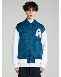Add Signal Varsity Jacket Indigo Blue