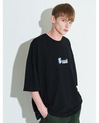 XTONZ Xtt003 Pros Oversize T-shirt - Black