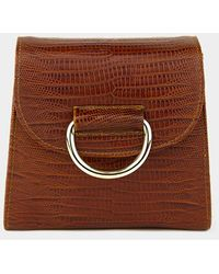 Little Liffner [exclusive] Tiny Box D Bag - Brown
