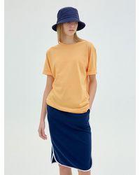 Clove Club Unisex Tee_orange