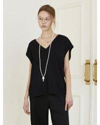 Baby Centaur Like Cashmere Knit Vest [] - Black