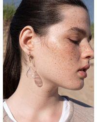 1064STUDIO Deep In Glassland 01 Earrings - White