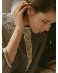 ULLALA PAJAMAS Monoday Dress - Grey