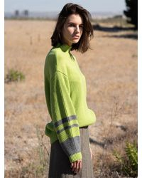 AVA MOLLI Harold Knit (neon) - Green