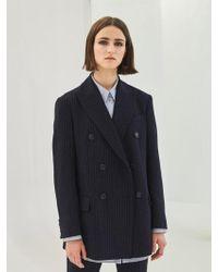 COLLABOTORY - Baama5009m Nomcore Double Breast Oversize Jacket - Lyst