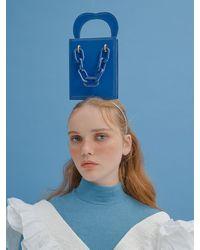 Simon Carter Mini Queens Tote Bag - Blue