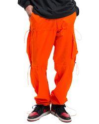 VLADVLADES 3 String Wide Trousers - Orange