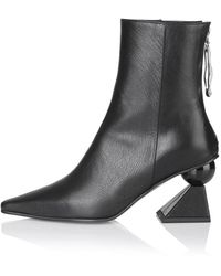 Yuul Yie Amoeba Glam Heeled Boots - Black