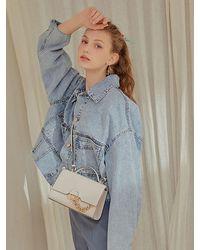 Lapalette Cannes Aube Mini Satchel Bag - Natural