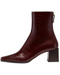 Reike Nen Rl4-sh003 Cube Heel Basic Boots - Multicolour